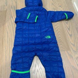 Baby boy wintersuit